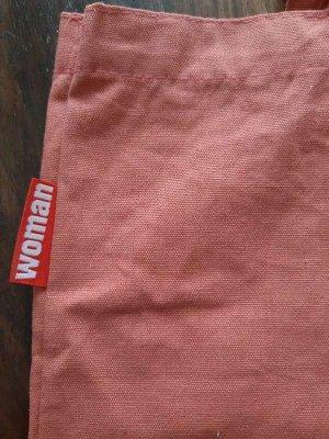Burlap Bag multicolored cotton