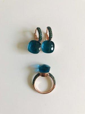 Pomellato Design Set Ohrringe + Ring