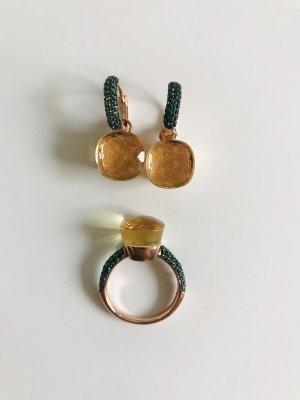 Pomellato Design Set Ring + Ohrringe