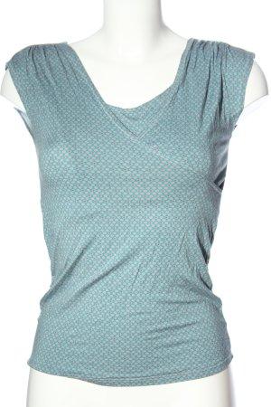 POmKin Wraparound Shirt allover print casual look