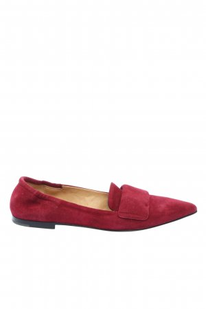 Pomme d'Or Pantoffels rood casual uitstraling