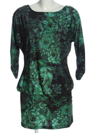 Pompöös by Harald Glöckler Mini Dress green-black allover print casual look