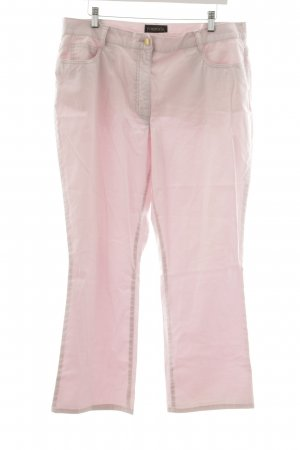 Pompöös Straight-Leg Jeans rosa Casual-Look