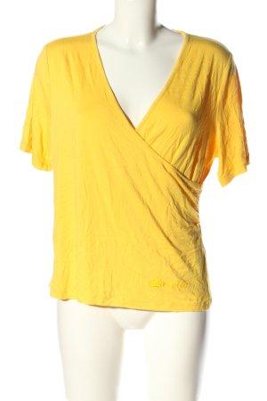 Pompöös T-Shirt blassgelb Casual-Look