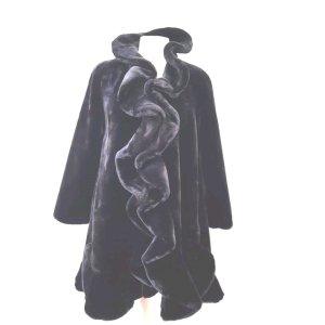 Pompöös Manteau de fourrure noir