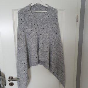 Unbekannte Marke Poncho gris clair