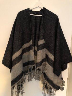 Opus Poncho gris oscuro-gris claro