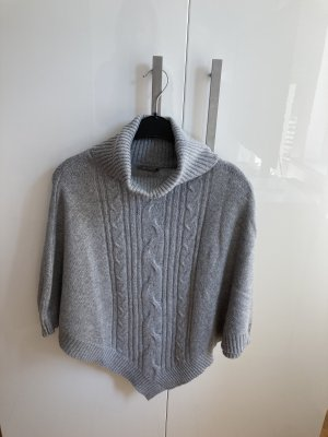 Orsay Knitted Poncho light grey