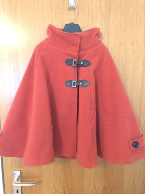 Cape dark orange-red