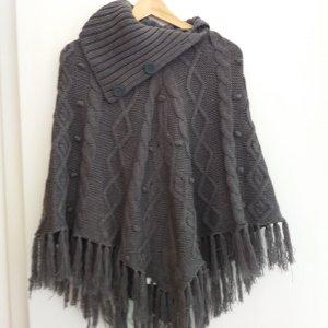 Yessica Mantella grigio scuro-antracite