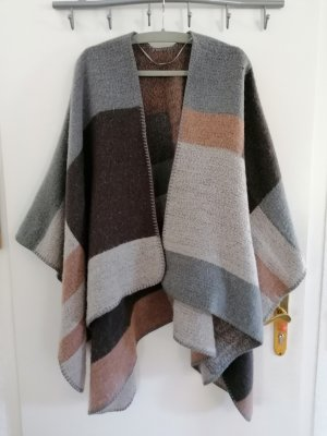 Street One Knitted Poncho multicolored