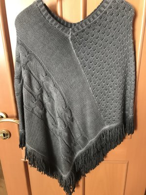 key largo girls Poncho grigio