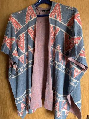 Tally Weijl Poncho lichtblauw-roze