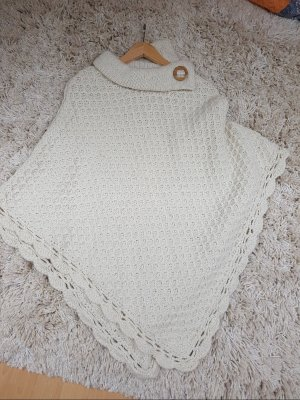 Poncho aus Portugal 100% wolle hand made one size