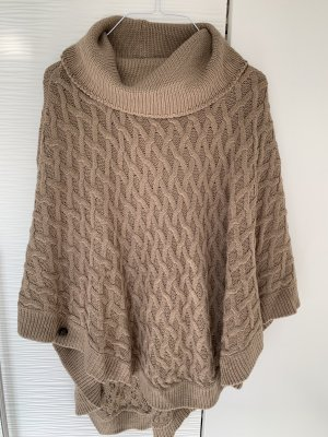 Forever 21 Knitted Poncho multicolored