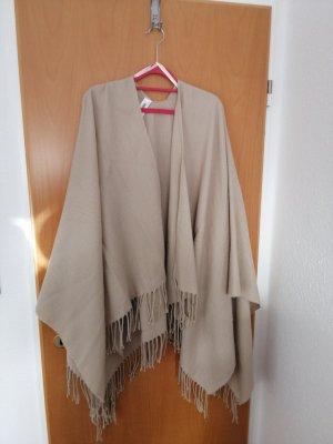 1982 Poncho marrón claro