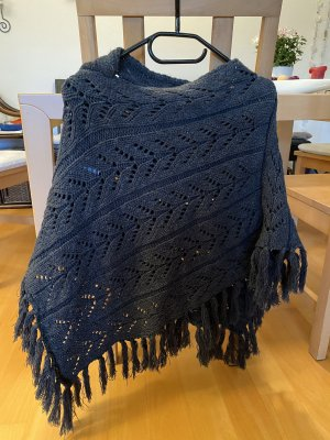 Charles Vögele Knitted Poncho anthracite