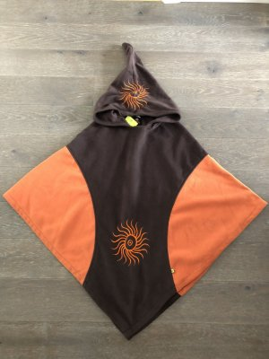 Cape black brown-dark orange