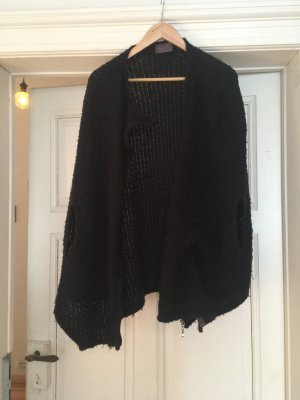 H&M Cape black synthetic fibre