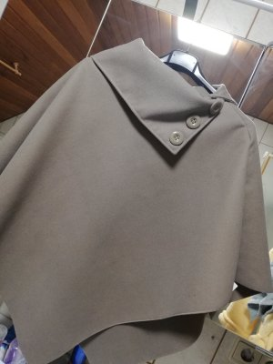 Made in Italy Cape dark grey polyester