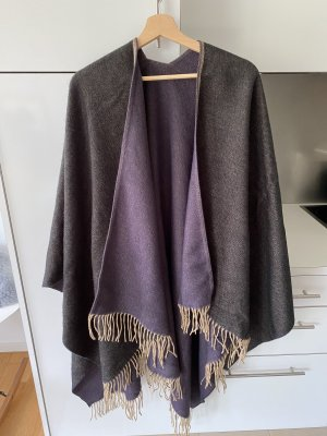 Poncho/Cape Wolle