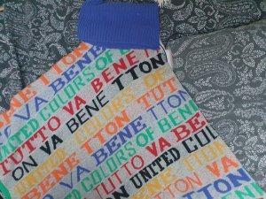 Benetton Poncho grey