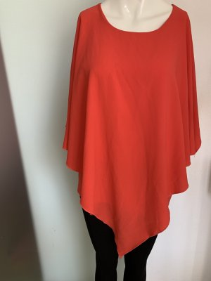 Risskio Oversized Blouse bright red