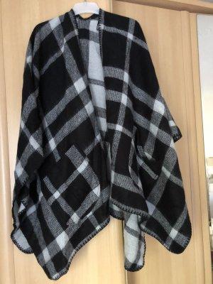 Mantella nero-grigio chiaro