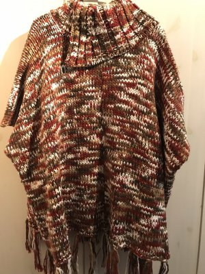 Esprit Knitted Poncho multicolored