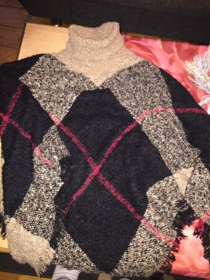 C&A Knitted Poncho multicolored