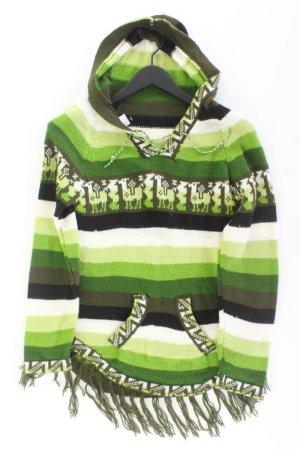 Ponczo zielony-zielony neonowy-miętowy-zielona łąka-trawiasty-leśna zieleń