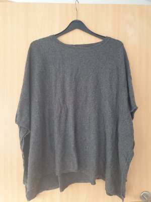 Jette Poncho gris oscuro