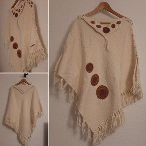 Robe en laine multicolore