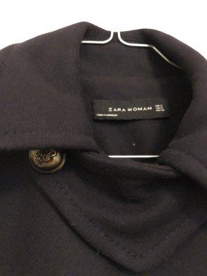 Zara Woman Cappotto mezza stagione nero