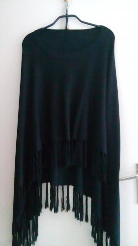 Comma Poncho azul oscuro