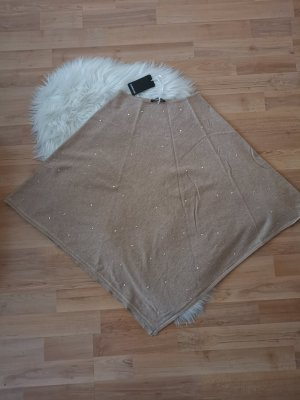 S.Marlon Poncho light brown-beige