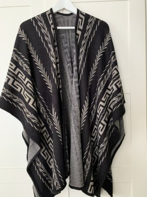 no name Knitted Poncho multicolored
