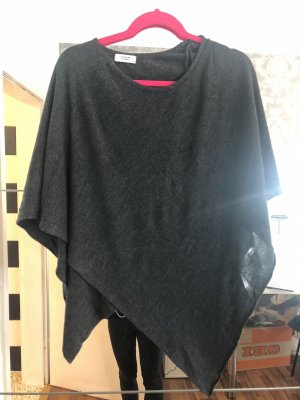 Poncho black-anthracite