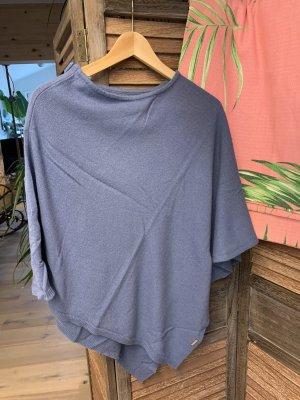 Kiwi Saint-Tropez Poncho azul acero