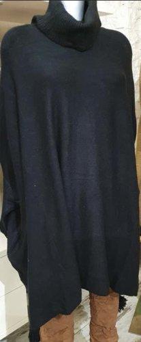Italy Moda Poncho black