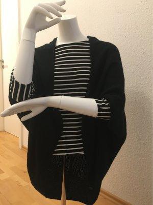 Tom Tailor Denim Poncho en tricot noir