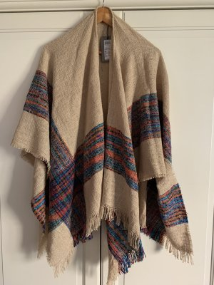 Vero Moda Poncho en tricot beige