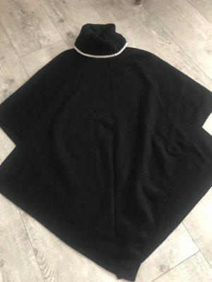 Zara Poncho zwart