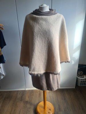 selfmade Poncho marrón-beige claro