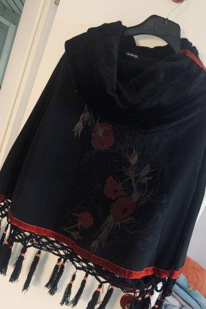 Angels Never Die Manteau court noir-rouge foncé