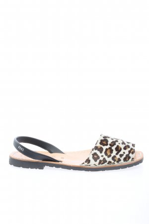 PONS Comfort Sandals animal pattern casual look