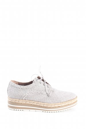 Pons Quintana Lace Shoes light grey-brown casual look