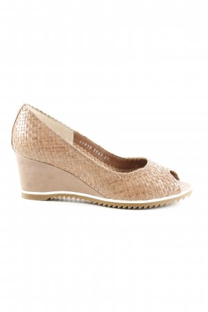 Pons Quintana Wedges Sandaletten nude Casual-Look