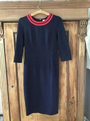 Boden Sheath Dress dark blue cotton