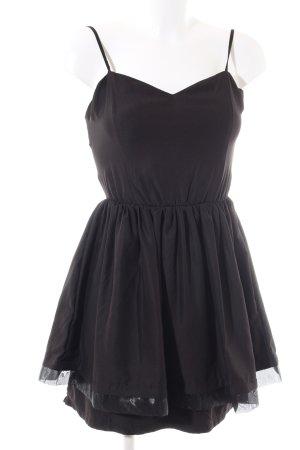 Poof Couture A-Linien Kleid schwarz Elegant